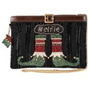 Elfie Crossbody Holiday Handbag